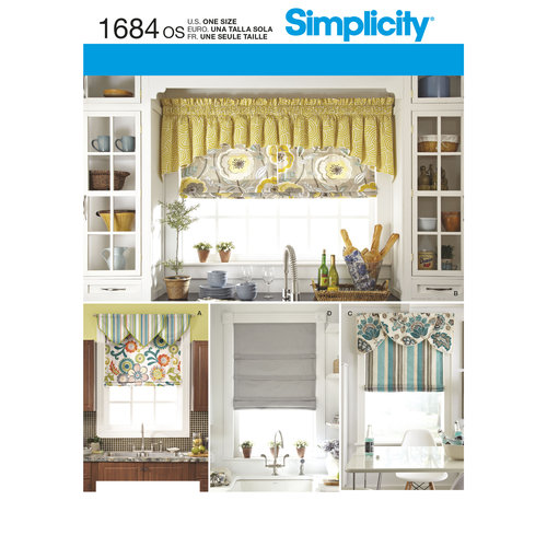 simplicity crafts home decor roman shades and valances