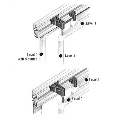 Peter Pepper Tactics Plus  Level 0 Replacement Wall Mounting Clips