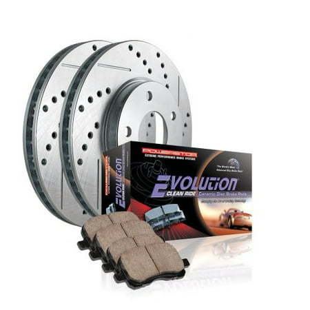 Powerstop 16-1421 PSB16-1421 EVOLUTION CLEAN RIDE CERAMIC BRAKE