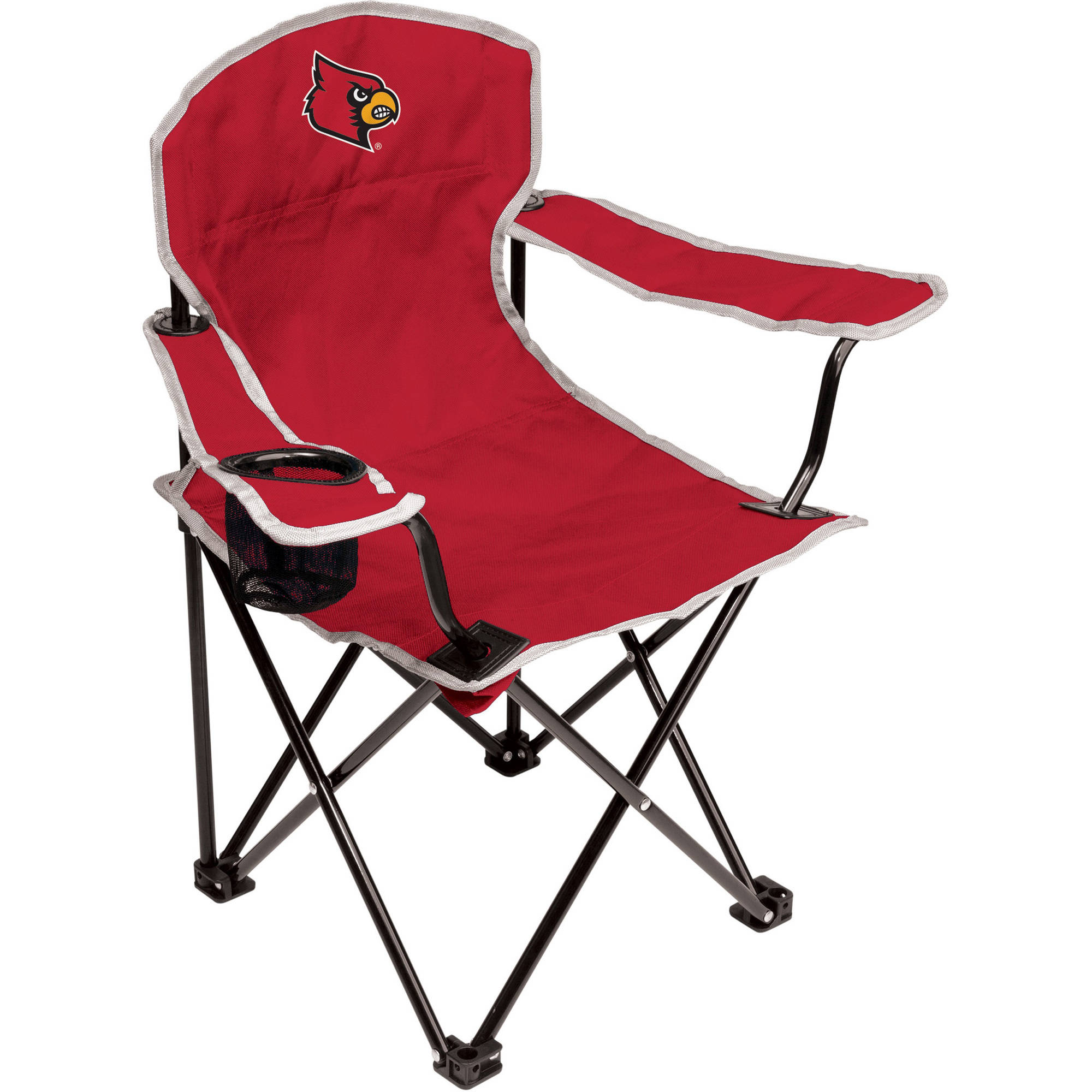 NCAA Louisville Cardinals Youth Size Tailgate Chair from Coleman by Rawlings