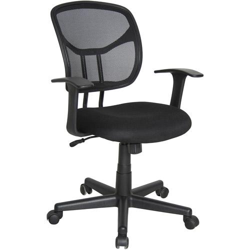 OFM Essentials Modern Mesh Back Ergonomic Manager's Task Chair, Black