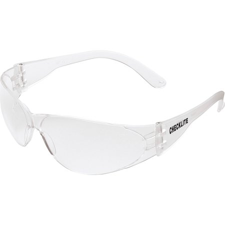 Crews, MCSCL110AF, Checklite Anti-fog Safety Glasses, 1 Each, Clear