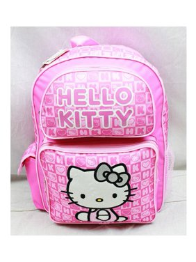 14ce61d7f3ed Product Image Backpack - Hello Kitty - Pink Box Checker (Large School Bag)  New 82348