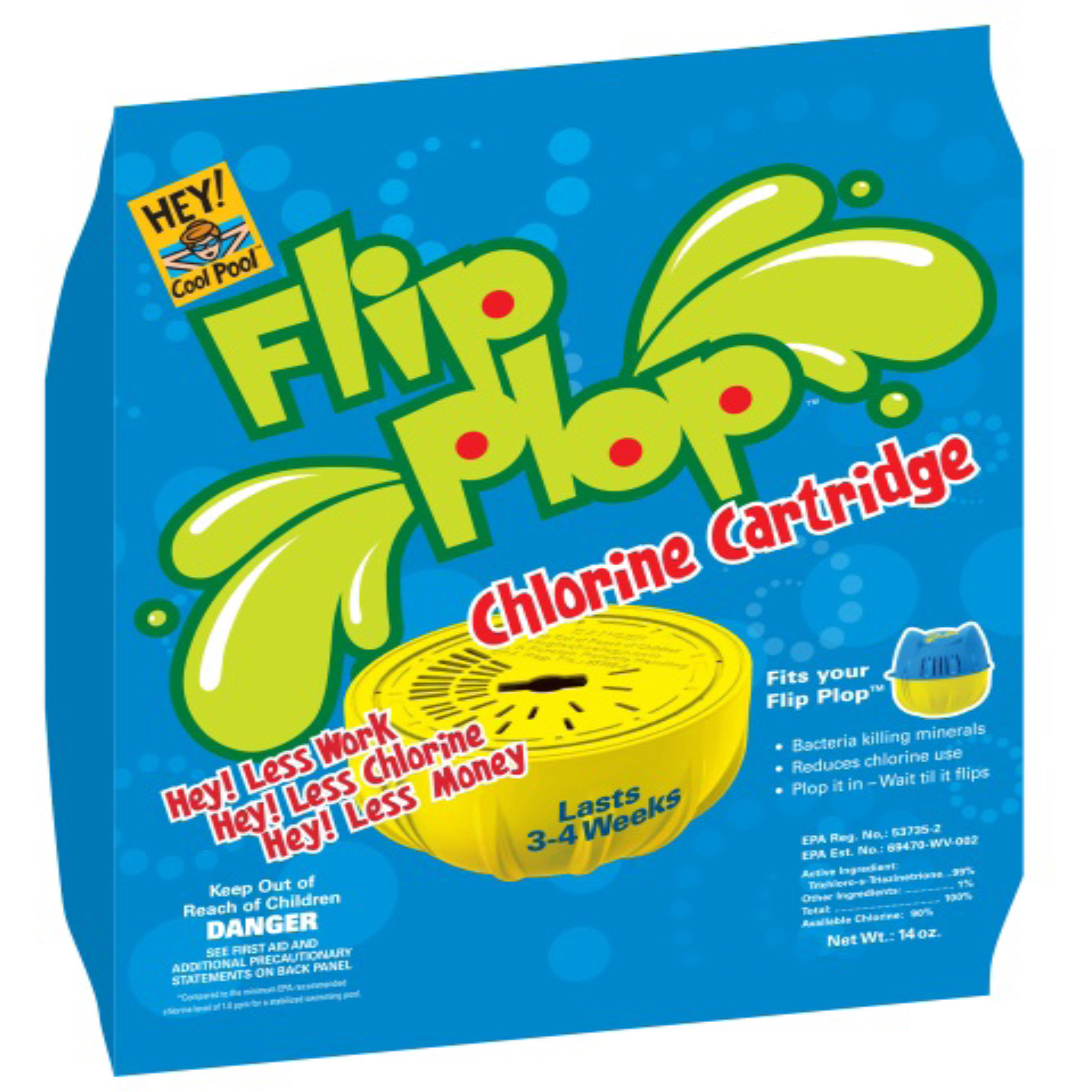 Hey! Cool Pool Flip Plop Refill Cartridge