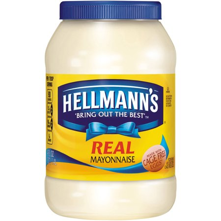 Hellmanns Real Mayonnaise  48 Fl Oz
