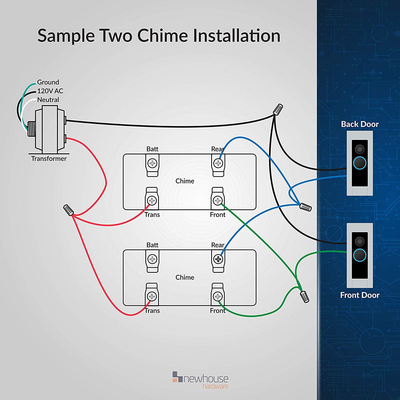 Single Doorbell Wiring Diagram Doorbell Wiring Diagrams Diy House