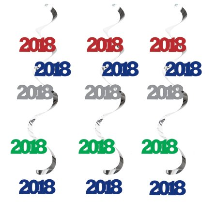 Assorted 2018 Dizzy Danglers, 5 pk