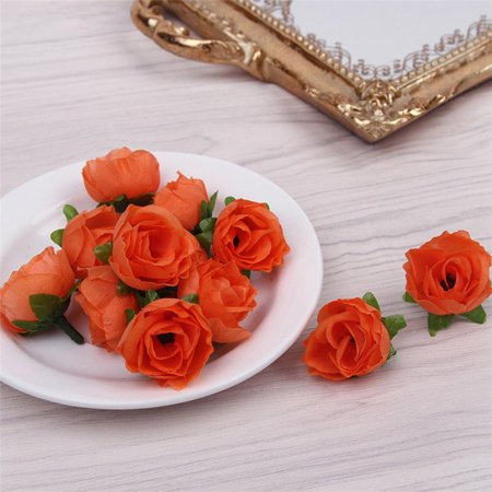 KABOER 50 Pcs Home Wedding Decoration Artificial Rose Flowers Birthday Party Artificial Peony Floral Fake Bouquet Flower Heads Random ()