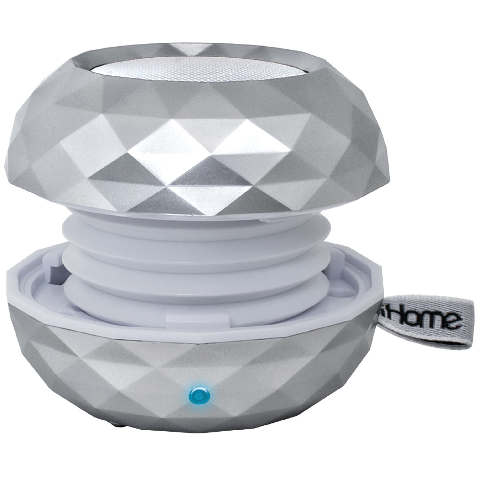 iHome LBT66SC Rechargeable Bluetooth Color-Changing Mini Speaker System