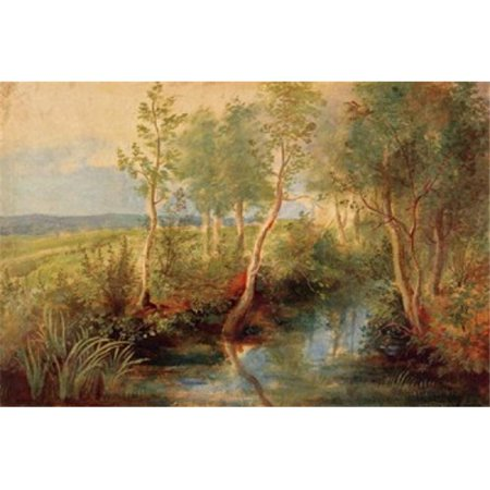 Landscape Poster Print by Peter Paul Rubens - 36 x 24 in. - Large - image 1 de 1