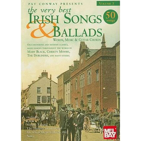 The Very Best Irish Songs & Ballads - Volume 3 : Words, Music & Guitar