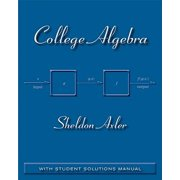 College Algebra: With Student Solutions Manual Paperback