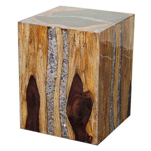 New Pacific Direct Crystal End Table