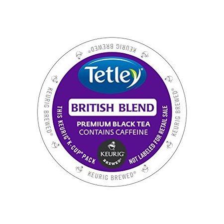 Tetley Tea British Blend Kcups 96ct by Tetley