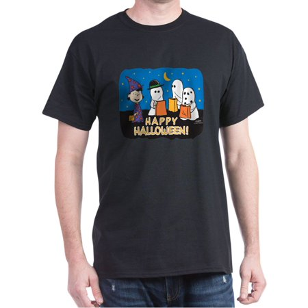 Cute Happy Halloween Logo (The Peanuts Gang Happy Halloween - 100% Cotton)