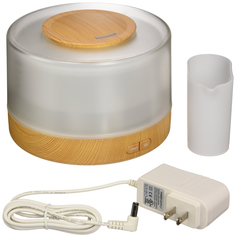 Vista 380ml Aroma Essential Oil Diffuser Ultrasonic Humidifier LED 6 Color Ch...