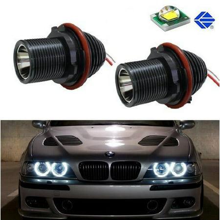 Ijdmtoy 7000k Xenon White 15w Cree High Power Led Bmw Angel Eyes Halo Ring Marker Bulbs For E39 E60 E63 E65 E53 5 6 7 Series X3 X5