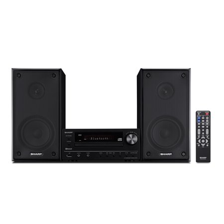 Sharp XL-HF102B 50W Executive Hi-Fi Component (Best Sharp Shelf Systems)