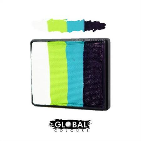 Global Body Art Face Paint - Rainbow Cake Greenland 50gr