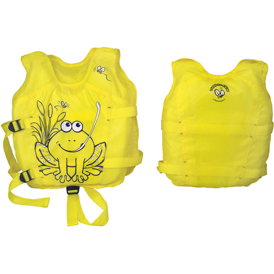 Poolmaster Hungry Frog Swim Vest 1-3 yr.