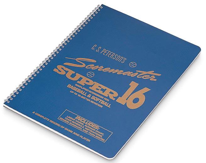 Cramer Super 16 Baseball Scorebook by Cramer Sports Medicine
