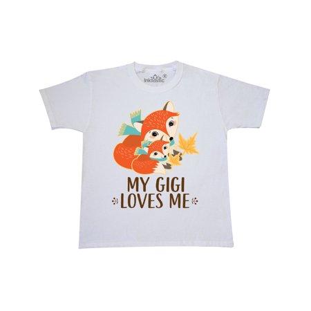 My Gigi Loves Me Fox Gift Youth T-Shirt