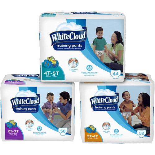 White Cloud Boys' Training Pants (Choose Your Size)