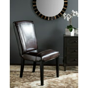 Safavieh Ken 19''H Rustic Classic Leather Side Chair, Set of 2