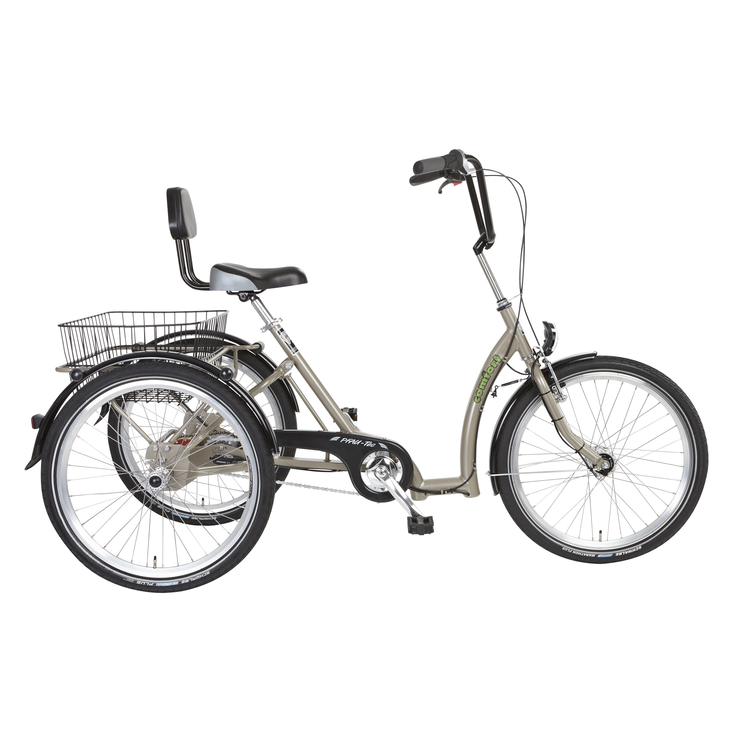 "PFIFF Comfort Adult Tricycle, 24"" Wheels, Pearl"