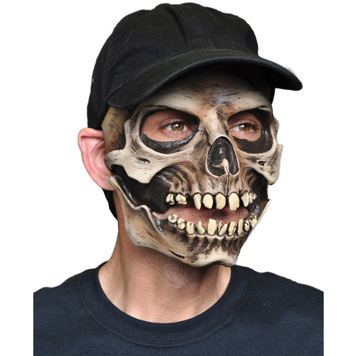 skull cap halloween adult latex mask