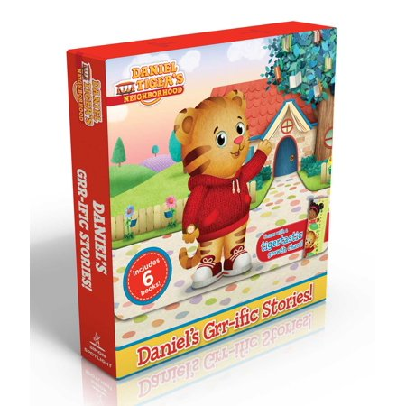 Daniel's Grr-Ific Stories! (Comes with a Tigertastic Growth Chart!) : Welcome to the Neighborhood!; Daniel Goes to School; Goodnight, Daniel Tiger; Daniel Visits the Doctor; Daniel's First Sleepover; The Baby Is Here! (Toddler Sizes Chart)
