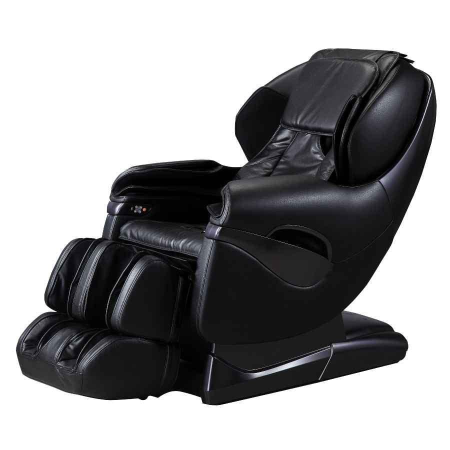 Osaki TP-8500 L-Track Zero Gravity Foot Roller Space Saving Massage Chair Black
