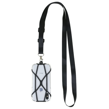 Gear Beast Crossbody Universal Cell Phone Lanyard Strap Compatible with iPhone, Galaxy, Pixel & Most Smartphones, Nylon Strap adjusts from 28 to 50 inches to wear over the shoulder or cross (Totoro Phone Strap)