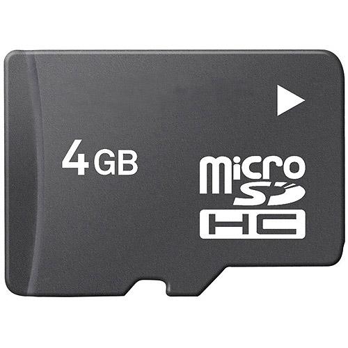 4GB MicroSD Mobile Memory Card