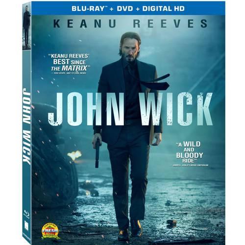 John Wick (Blu-ray + DVD + Digital HD) (With INSTAWATCH) (Widescreen)