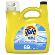 Tide Simply Refreshing Breeze, 89 Loads Liquid Laundry Detergent, 138 fl oz