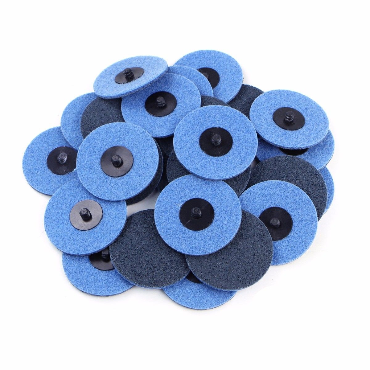 "25Pc 3"" fine grit Roloc Cleaning Roll Lock Surface Conditioning Sanding Disc"