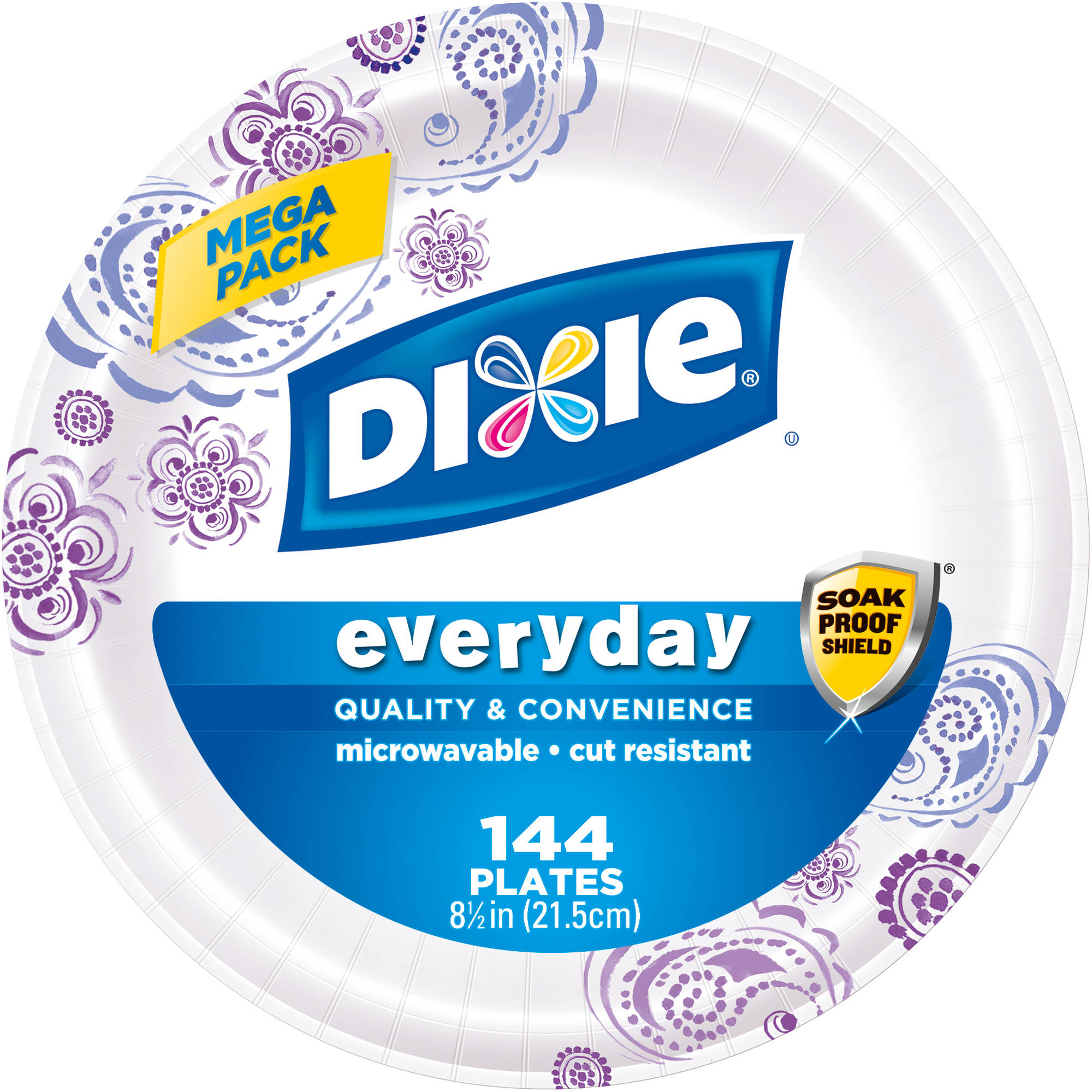 Dixie Everyday Paper Plates, 144 count