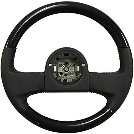 - Volante Steering Wheels; OE Series 1984-89 Corvette 14 in. Black Ash-Black Leather Steering Wheel| OE Number 9768988