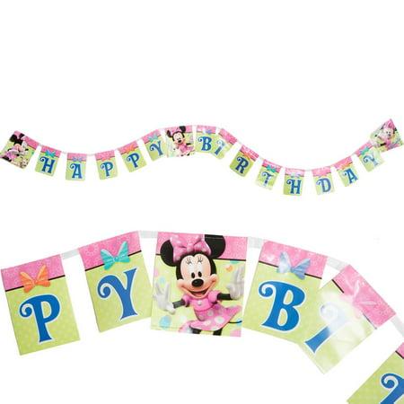 Disney's Minnie Mouse Birthday Banner