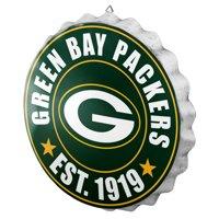 Green Bay Packers Bottle Cap Sign
