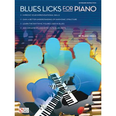 Blues Licks for Piano Blues Country Piano