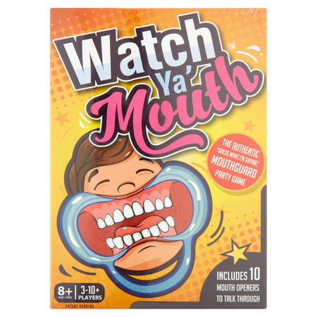 Watch Ya' Mouth Game - Halloween Party Games For Adults And Kids