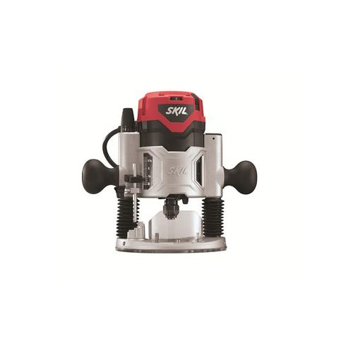skil plunge router. skil 1827 2 hp plunge base router with soft start \u0026 led t