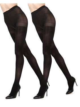 dcf2f6a50 Product Image MeMoi Solid 2-Pair Control Top Microfiber Tights
