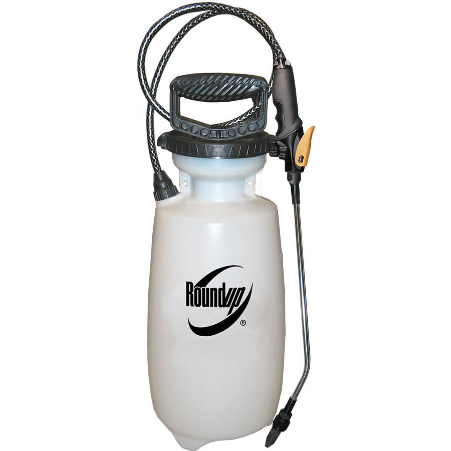 Roundup Premium 2-Gallon Pump Sprayer - Weed Sprayer, Garden Sprayer