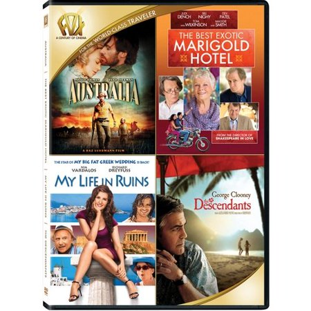 Australia   The Best Exotic Marigold Hotel   My Life In Ruins   The Descendants  Widescreen