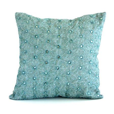 Av Home Artisan Origami Jeweled Throw Pillow