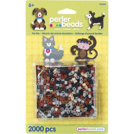 Perler Bead Mix 2,000/Pkg-Pet - image 1 de 1