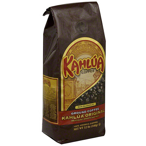 Kahlua Original Ground Coffee, 12 oz (Pack of 6)